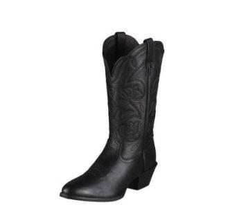 Ladies Western Boot Ariat Black Heritage 10001037