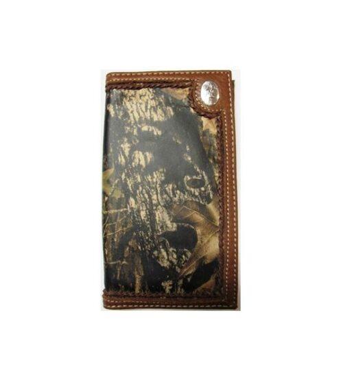 Nocona Mossy Oak Deer Wallet