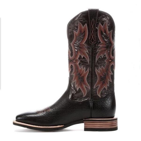 4f21bc065db Ariat Men's Tombstone Black Cowboy Boot 10005873