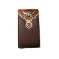 Nocona Long Horn Steer Wallet