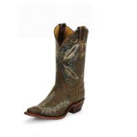 Justin Ladies Chocolate Distressed Puma Boot BRL106