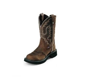 Justin Ladies Gypsy Boots Aged Bark L9909