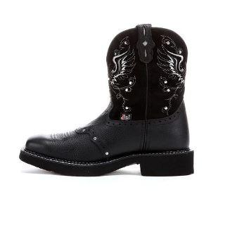 8c4a6dd7bdc Women's Western Boot Justin Black Gypsy Boot L9977
