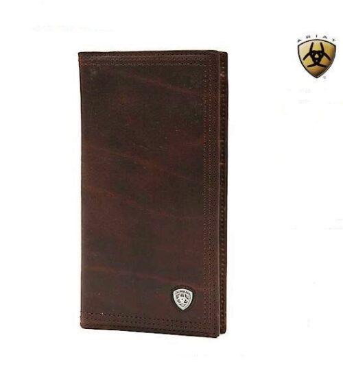 Ariat Dark Copper Brown Wallet