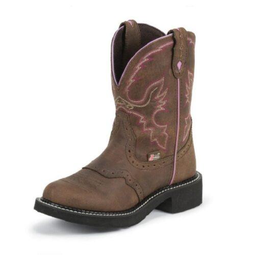 Women's Justin Boot Gemma Aged Bark Gypsy L9903
