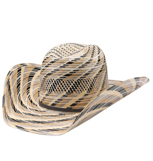 American Multi Colored Straw Hat