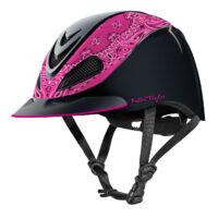 Fallon Taylor Pink Bandanna Helmet
