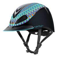Fallon Taylor Turquoise Aztec Helmet