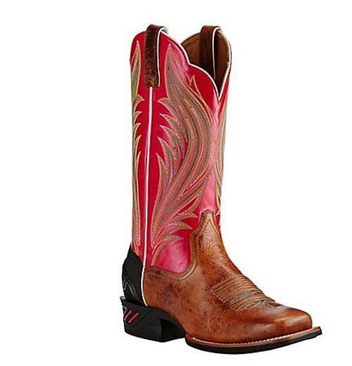 Ariat Ladies Catalyst Prime Pink Western Boots 10018488