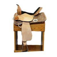 Circle Y High Horse Barrel Saddle
