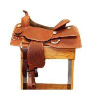 """Bob's Custom Reining 16"""" Saddle"""