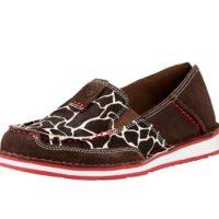 Ariat 10019891 Giraffe Choc Suede Shoe
