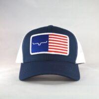 Kimes American Flag Snapback Cap