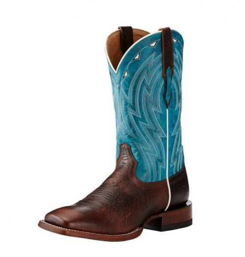 Ariat Men's Cowtown Chocolate Bullhide Boot