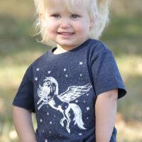 Toddler Glow in the Dark Unicorn Tee by Cruel Girl
