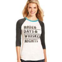 Rock n Roll Rodeo Days Ladies Tee