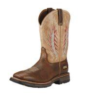 Ariat Men's Rustic Brown Mesteno II Workhog Boot