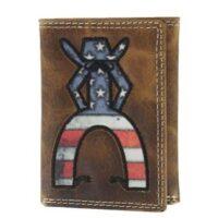 Hooey Men's Punchy Americana Tri-Fold Wallet