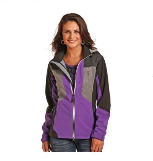Women's Panhandle Powder River Purple/Black Jacket