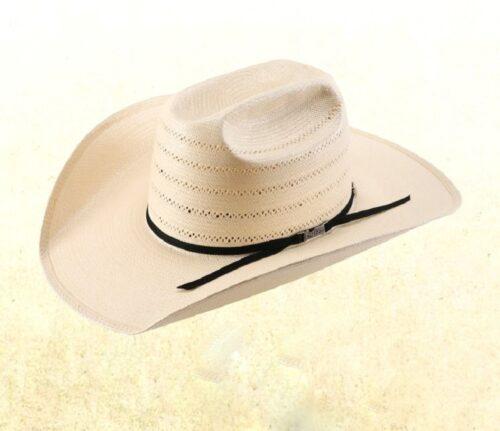 Western Straw Hat by American 7410 Cattleman