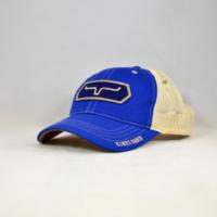 Kimes Blue Full Stop Vintage Trucker Cap