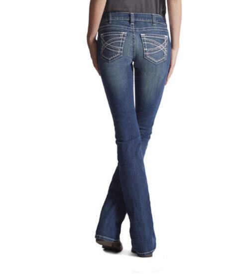 Ladies Ariat Jean Mid Rise Boot Cut 10017510