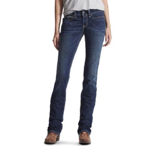 Ladies Ariat Jean R.E.A.L. Straight Leg 10017216