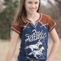 Cruel Girl Tee Short Sleeve Wild Horses