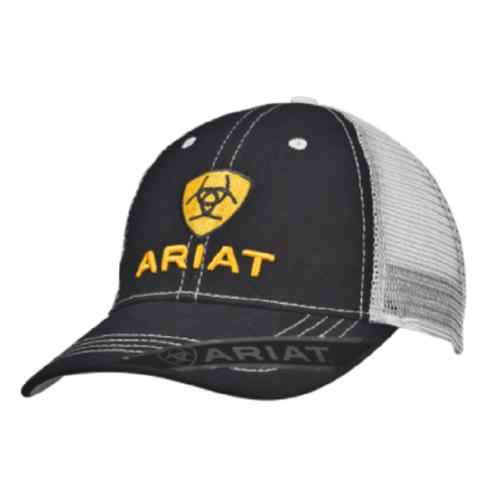 Ariat Ball Cap Iridescent Yellow with Black Bill