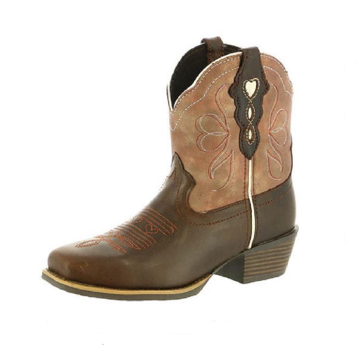 4e5dbda14fc Ladies Justin Boot Chellie Chocolate