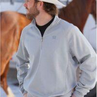 Men's Cinch Grey Sweater Pullover MWK1076002
