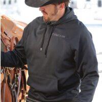 Men's Cinch Black Hooded Pullover MWK1217002