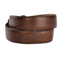 Men's Classic Brown Leather Belt 1_edited