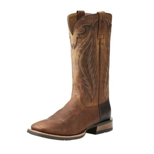 Men's Western Boot Ariat Trusty Tan Top Hand 10021674