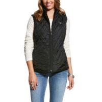 Women's Reversible Black Vest Hallstatt by Ariat 10023917-Waterloo Iowa