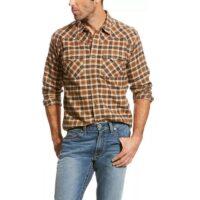 Men's Western Shirt Ariat Walken Retro Plaid 10024001