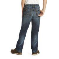 Boys Western Jean Ariat Falcon Straight Leg 10020804_edited