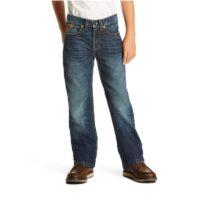 Boys Western Jean Ariat B5 Slim Fit Falcon Straight Leg