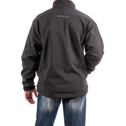 Men's Western Jacket Cinch Carry Concealed Black Bonded MWJ1043014
