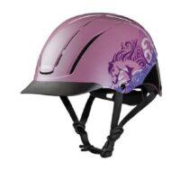 Troxel Spirit Dreamscape Pink Helmet