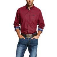 Men's Western Shirt Ariat Relentless Chili Pepper 10025633