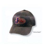 Justin Brown Brushed Cotton Cap