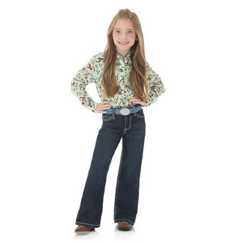 Girls Wrangler Retro Jeans Boot Cut 09MWGER