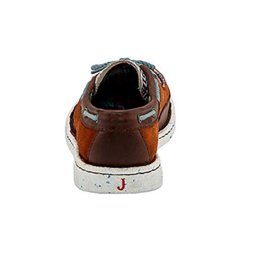 Ladies Western Shoe Justin Boatie Chocolate JL101