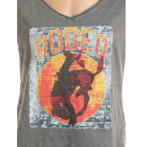 Women's Western Tee Rock n Roll Rodeo