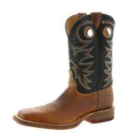Men's Western Boot Justin Caddo Brown Bent Rail BR740