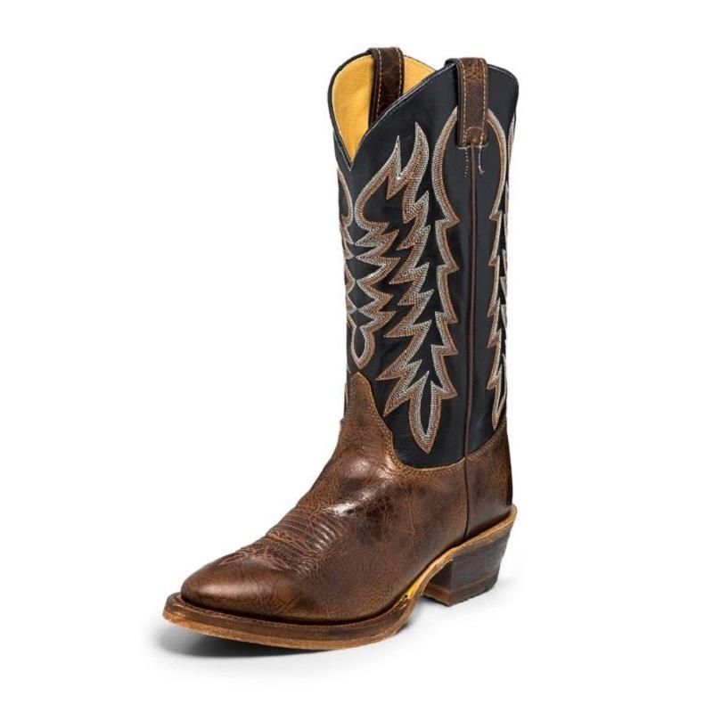 356e42b2a3c Men's Western Boot Justin Keaton Brown BR252