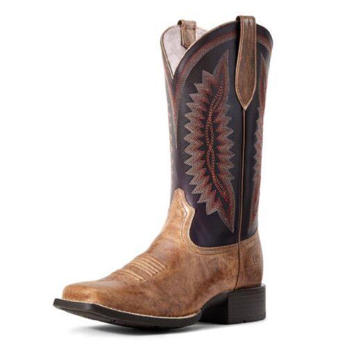 Ladies Western Boot Ariat Quickdraw Almond Buff