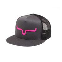 Kimes Shadow Horns Trucker Ball Cap