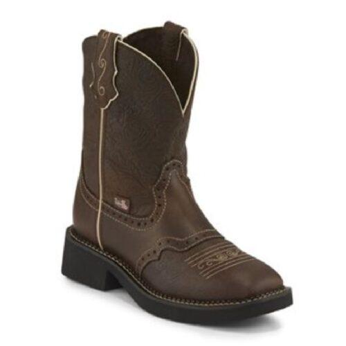 Ladies Western Boot Mandra Brown Justin L9618